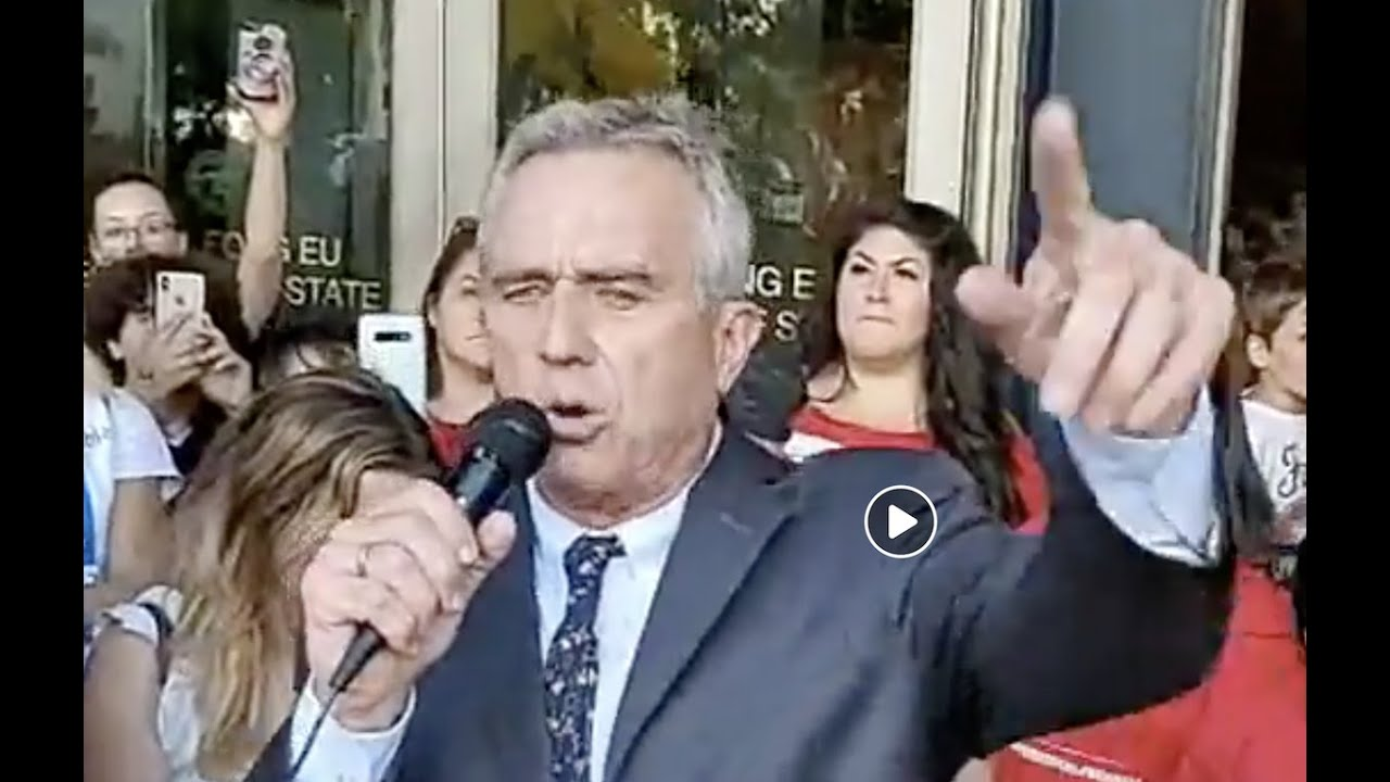 RFK. Jr.'s Mic Dropping Speech Inspires Hope Vis-à-Vis The Rise of the Medical Police State
