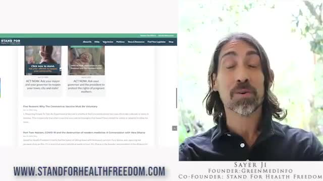 Stand For Health Freedom: Removing the Egos & Logos from Activism