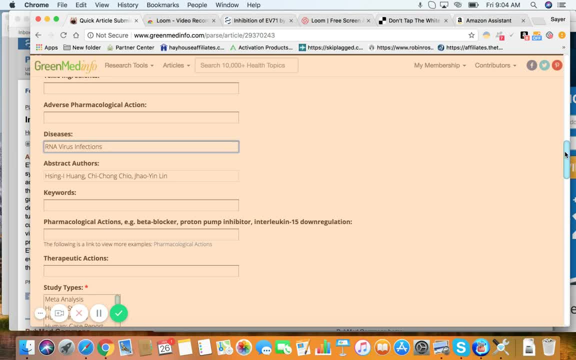 Quick Article Submission Page   GreenMedInfo   Natural Medicine