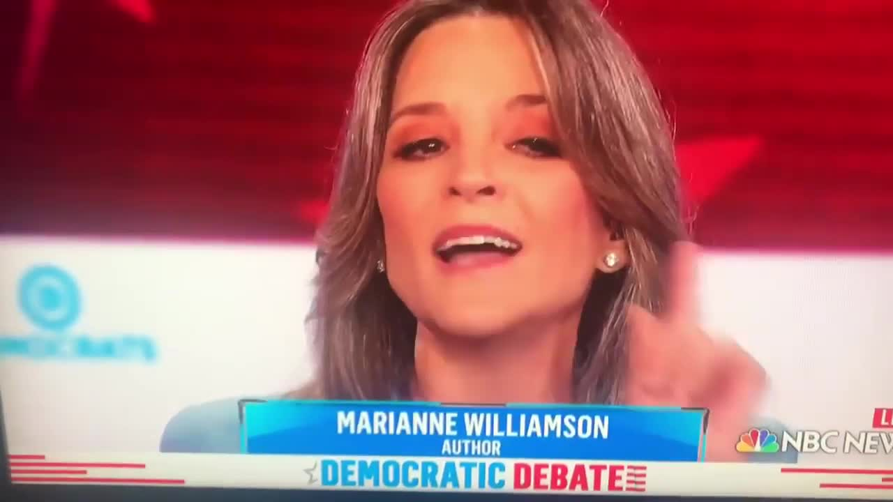 Marianne Williamson Speaks to Big Pharma's Influence  & A Broken Medical System