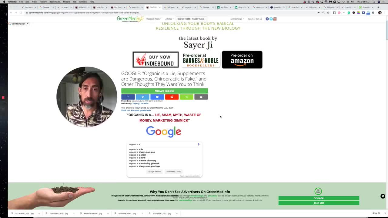 How Google is Manipulating COVID Related Search Results