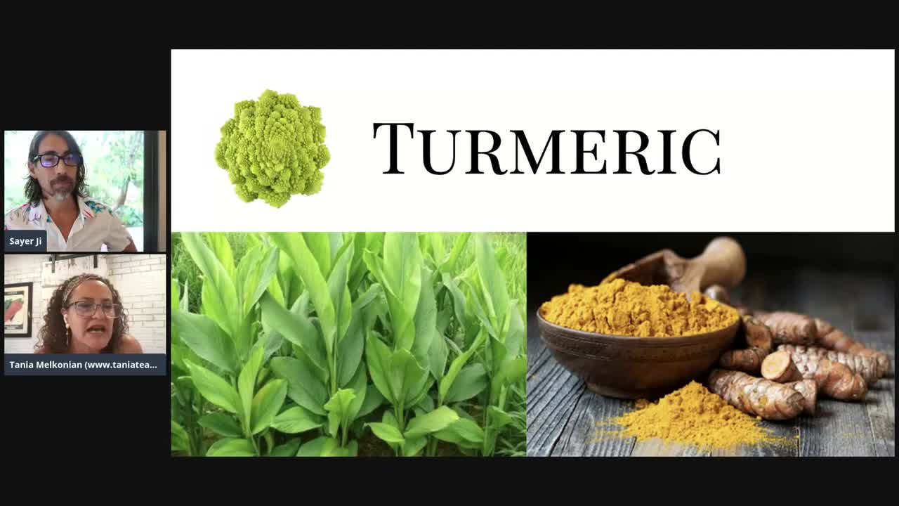 Sayer and Tania Livestream: Top Ten Spices to Have in Your Medicine Cabinet, and How to Use Them!
