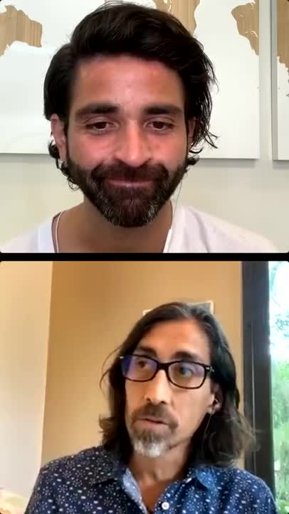 Oto and Sayer's Instagram Live -- Real, Raw Conversation!